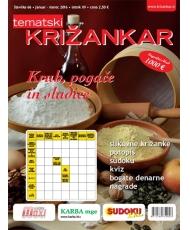 Tematski Križankar - Kruh, pogače in sladice