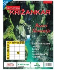 Tematski Križankar - Biseri Slovenije